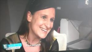 Notre écrivain Juliette sur France 3, Notre écrivain Juliette sur France 3 !