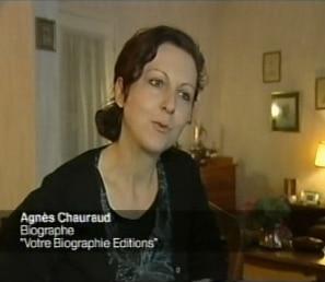Notre écrivain sur France 3., Notre écrivain sur France 3, voir la vidéo !