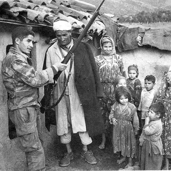 , La guerre d'Algérie